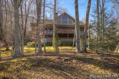 Banner Elk Single Family Home For Sale: 4968 Hickory Nut Gap Road