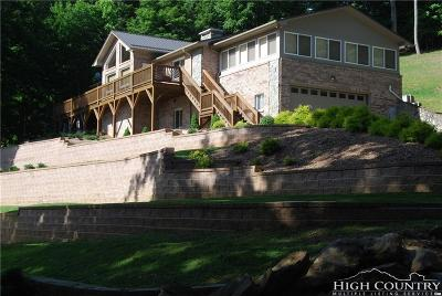 Watauga County Single Family Home For Sale: 516 Miners Ridge Trail