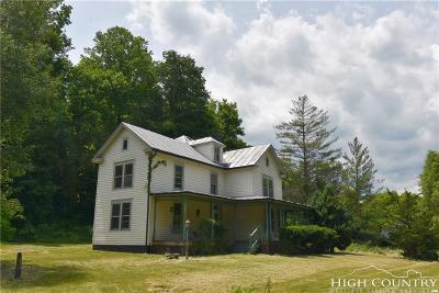 Ashe County Single Family Home For Sale: 2539 S Big Horse Creek Road