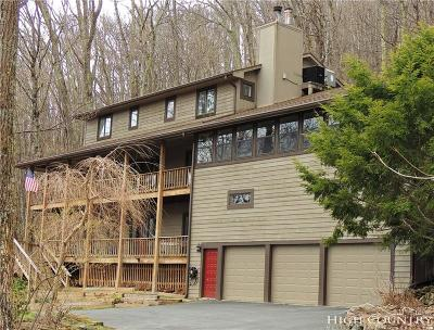 Alexander County, Ashe County, Avery County, Burke County, Caldwell County, Watauga County Single Family Home For Sale: 196 Thorncliff Drive