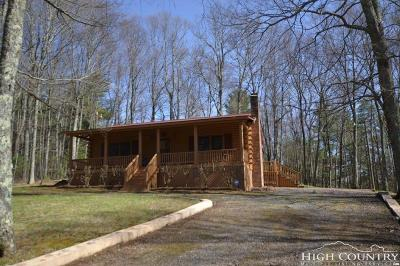 Caldwell County, Alexander County, Watauga County, Avery County, Ashe County, Burke County Single Family Home Under Contract - Show: 362 Thistle Hill Lane