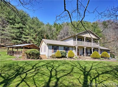 Ashe County Single Family Home For Sale: 4331 Smithey Road