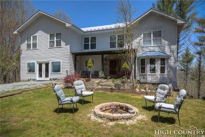 Watauga County Single Family Home For Sale: 485 Private Drive