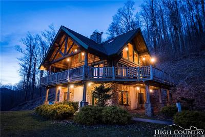 Avery County Single Family Home For Sale: 43 Yellow Mountain Road