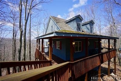 Beech Mountain Single Family Home For Sale: 529 Pine Ridge Road