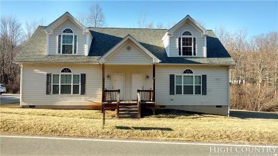 Ashe County Condo/Townhouse For Sale: 2772 Beaver Creek School Road