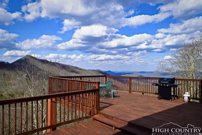 Seven Devils Single Family Home For Sale: 351 Windy Knob Trail
