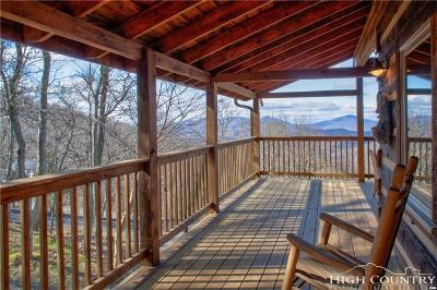 Watauga County Single Family Home For Sale: 205 Broken Arrow