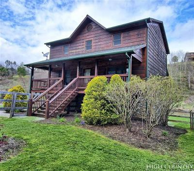 Ashe County Single Family Home For Sale: 6891 Railroad Grade Road