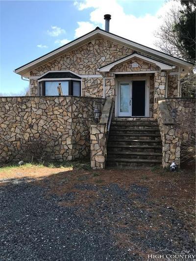 Watauga County Single Family Home For Sale: 300 Aspen Lane