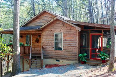 Watauga County Single Family Home For Sale: 1390 Powder Horn Mountain Road