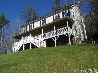 Watauga County Single Family Home For Sale: 227 Flame Azalea Drive
