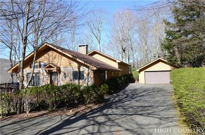 Linville Ridge Single Family Home For Sale: 308 Dam Trail