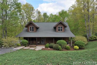 Ashe County Single Family Home For Sale: 281 Vannoy Drive