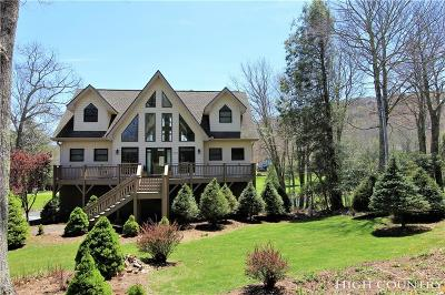Watauga County Single Family Home For Sale: 100 Hilltop Road