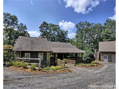 Ashe County Single Family Home For Sale: 327 Hunter Drive