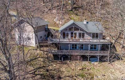 Watauga County Single Family Home For Sale: 645 Buckeye Lane