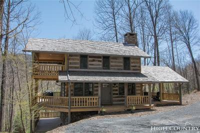 Ashe County Single Family Home Under Contract - Show: 263 E Yellow Bear Road