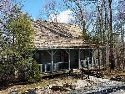 Beech Mountain Single Family Home For Sale: 207 Lake Road