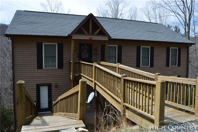Watauga County Single Family Home For Sale: 107 Deergrass Road