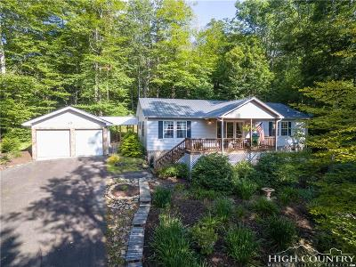 Sugar Mountain Single Family Home For Sale: 143 Shelter Rock Circle