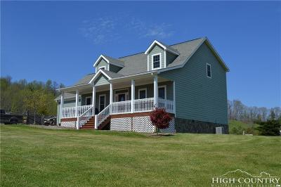 Ashe County, Avery County, Burke County, Alexander County, Caldwell County, Watauga County Single Family Home Under Contract - Show: 230 Big Flatts Moretz Road