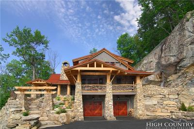Alexander County, Ashe County, Avery County, Burke County, Caldwell County, Watauga County Single Family Home For Sale: 1537/1677 Eagles Nest Trail