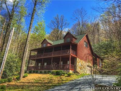Alexander County, Ashe County, Avery County, Burke County, Caldwell County, Watauga County Single Family Home Under Contract - Show: 548 Pinnacle Ridge Road