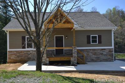 Ashe County Single Family Home For Sale: 500 Green Meadows Drive