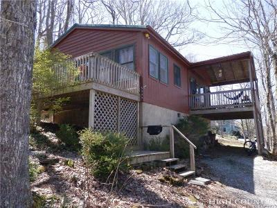 Caldwell County, Alexander County, Watauga County, Avery County, Ashe County, Burke County Single Family Home For Sale: 5005 Junaluska Road Road