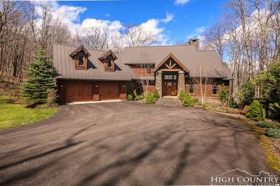 Ashe County Single Family Home For Sale: 423 Longhope Trail