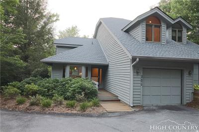 Watauga County Condo/Townhouse For Sale: 194 Hill Beck #1 Yonahlossee