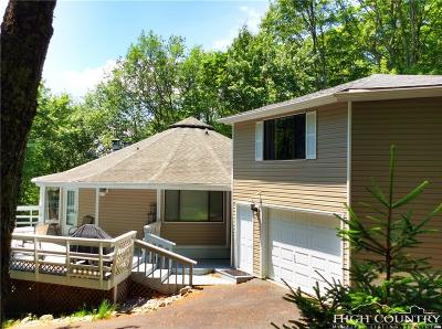 Beech Mountain NC Single Family Home For Sale: $215,000