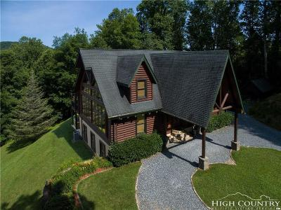 Watauga County Single Family Home For Sale: 605 Thistle Way