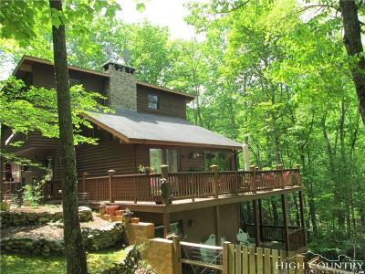 Watauga County Single Family Home For Sale: 211 Lakeview Lane