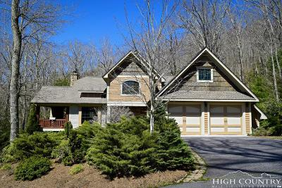 Banner Elk Single Family Home For Sale: 34 Hanging Rock Knoll