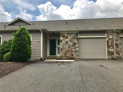 Ashe County Condo/Townhouse For Sale: 166 Fairway View Place #B2