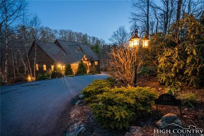 Watauga County Single Family Home For Sale: 463 New River Lake Drive