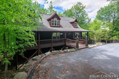 Beech Mountain Single Family Home For Sale: 115 Saint Andrews Road