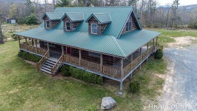 Avery County Single Family Home For Sale: 5706 Mortimer Road