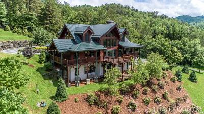 Banner Elk Single Family Home For Sale: 122 Apple Cove Road