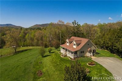 Avery County Single Family Home For Sale: 121 Shady Oaks Lane
