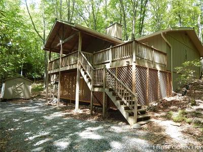 Beech Mountain NC Single Family Home For Sale: $189,900