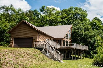 Alexander County, Ashe County, Avery County, Burke County, Caldwell County, Watauga County Single Family Home For Sale: 3750 Rip Shin Road