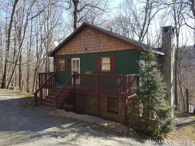 Sugar Mountain Single Family Home For Sale: 849 Shelter Rock Circle