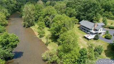Ashe County Single Family Home For Sale: 501 Riverwind Drive