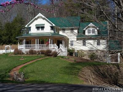 Watauga County Single Family Home For Sale: 268 Old Keller Farm Road