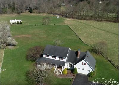 Banner Elk Single Family Home For Sale: 575 Old Shulls Farm Rd.
