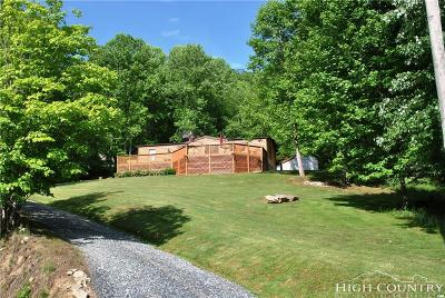 Watauga County Single Family Home For Sale: 488 Wards Branch Road