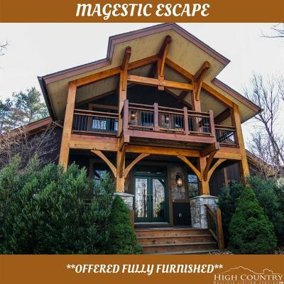Blowing Rock Single Family Home Under Contract - Show: 150 Keowee Camp Lane